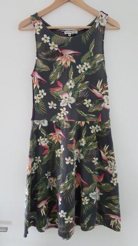 Floral Print Sommerkleid von Billabong Gr. M