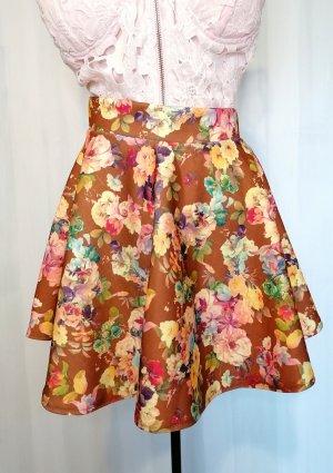 no name Mini-jupe multicolore
