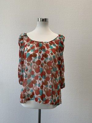 Phard Transparante blouse veelkleurig Polyester