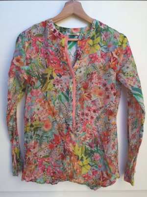 Lilienfels Tunic Blouse multicolored silk