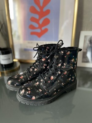 H&M Combat Boots multicolored