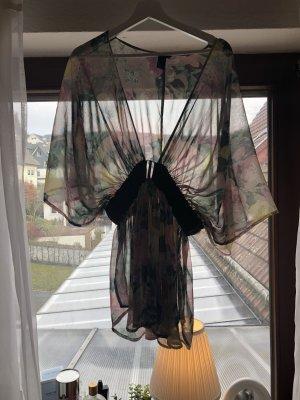 H&M Blusa kimono multicolore