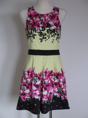 Laura Scott Bustier Dress multicolored cotton