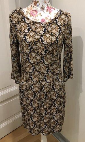 Florales Promod Kleid mit 3/4 Ärmeln Gr.34/36