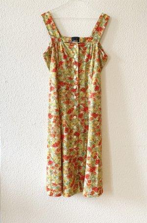 Florales Vintage Kleid mit Trägern by Griffon
