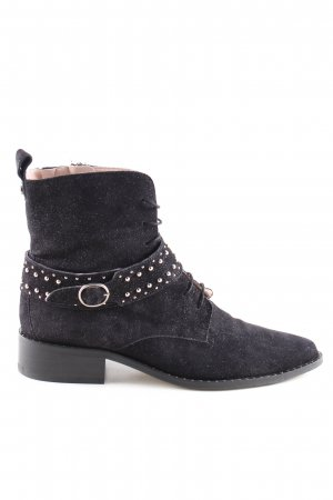 Floris van Bommel Booties schwarz Casual-Look