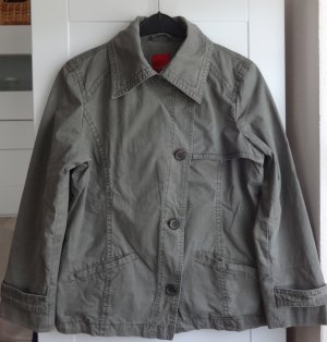***Flotte ESPRIT Damen Übergangsjacke in graugrün Gr. 46***