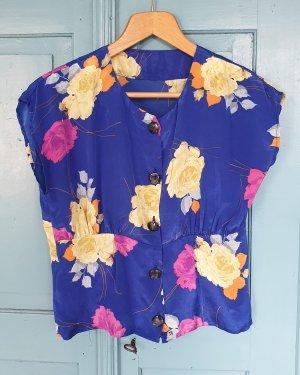 Flower Bluse - handgemacht