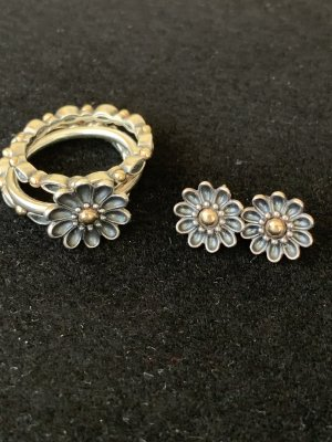 Flower jewelry set
