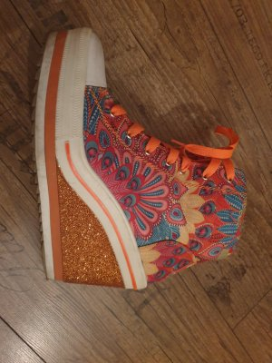 Catwalk Sneaker con zeppa multicolore