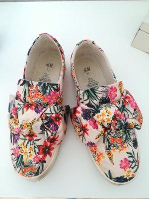 Flower Sneaker bunt Größe 41 von H&M