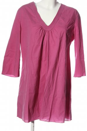 flowers for friends Schlupf-Bluse pink Casual-Look