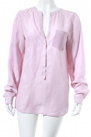 flowers for friends Seidenbluse rosa Casual-Look