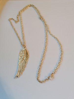 Srebrny łańcuch biały-srebrny Metal
