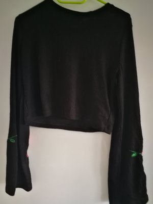 H&M Divided Cropped Jumper multicolored