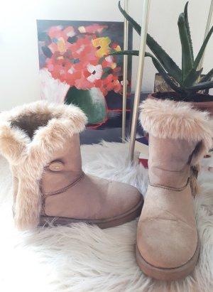 Botas del desierto crema