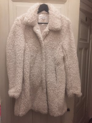 Calvin Klein Pelt Jacket natural white-cream polyester