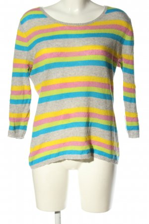 Fluffy Ears Cashmere Jumper flecked casual look