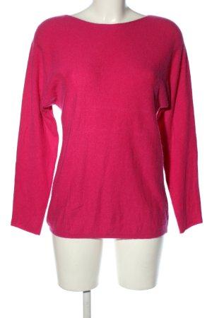 Fluffy Ears Kaszmirowy sweter różowy W stylu casual