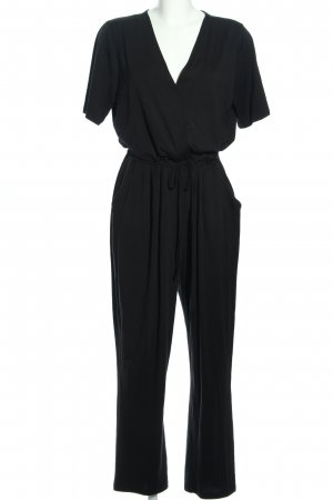 Fluffy Ears Jumpsuit schwarz Casual-Look