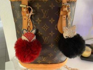 Fluffy Fox SchlüsselbundAnhänger auch für Taschen