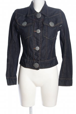 Fly Girl Jeansjacke blau Casual-Look