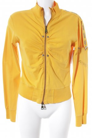 Fly Girl Sweatjacke orange sportlicher Stil