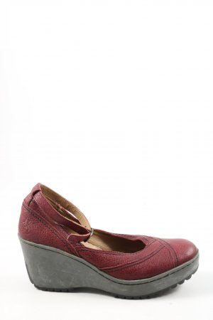 Fly london Keil-Pumps rot Casual-Look
