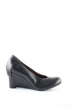 Fly london Keil-Pumps schwarz Casual-Look