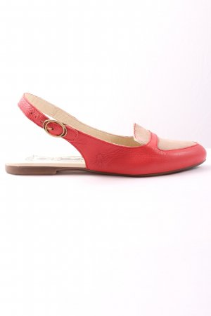 Fly london Slingback ballerina's rood-room casual uitstraling