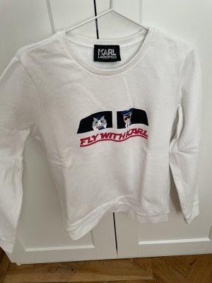 Karl Lagerfeld Długi sweter Wielokolorowy