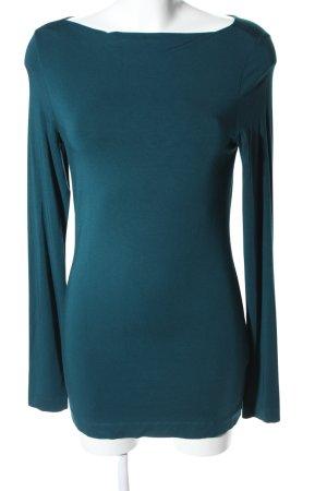 fogal Longsleeve blau Casual-Look