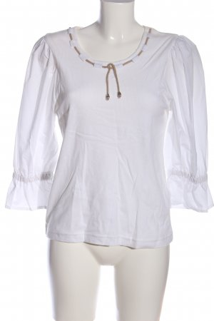 Folk Line Folkloristische blouse wit casual uitstraling