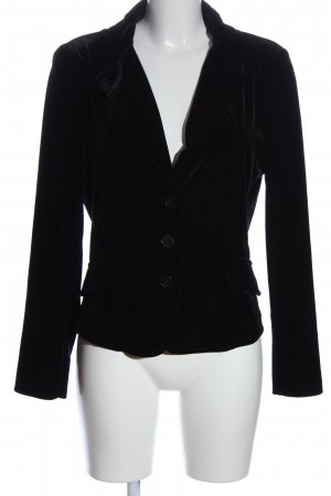 follemente Knitted Blazer black business style
