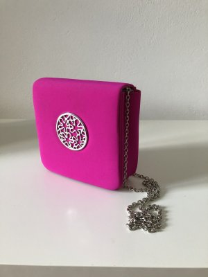 Folli Folie Abendtasche clutch pink Umhängetasche