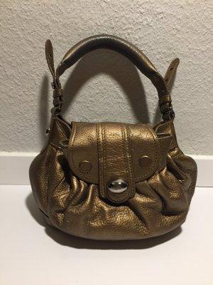 Folli Follie kleine Bronze-Handtasche Leder