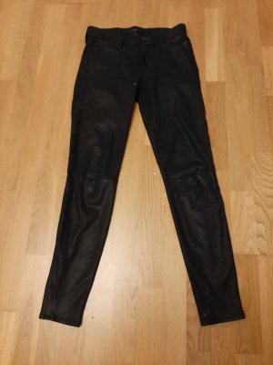 7 For All Mankind Pantalone a sigaretta nero