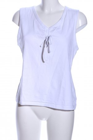 for friends only Basic Top weiß Casual-Look