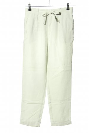 for friends only Pantalone di lino verde stile casual