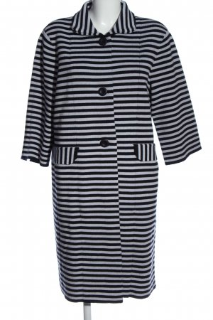 for friends only Wool Coat black-white striped pattern casual look