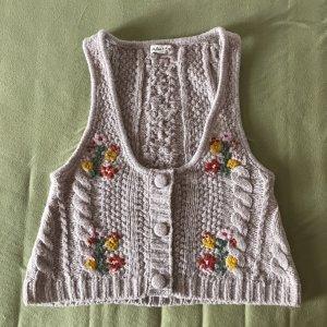 For Love & Lemons Knitted Vest cream