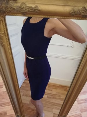 For You: Sexy Purple Fitted Cocktail Dress