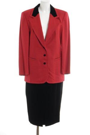 Fordan Kostüm schwarz-rot extravaganter Stil