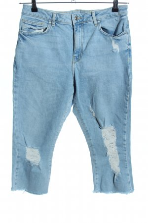 Forever 21 3/4 Jeans blau Casual-Look