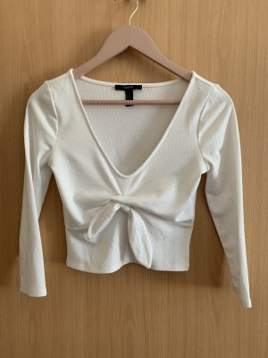 Forever 21 Cropped top wit