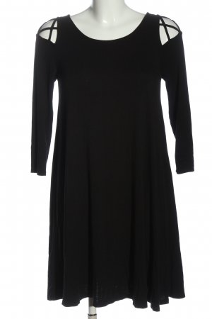 Forever 21 A-Linien Kleid schwarz Casual-Look
