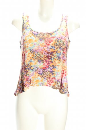 Forever 21 A-Linien Top Allover-Druck Casual-Look