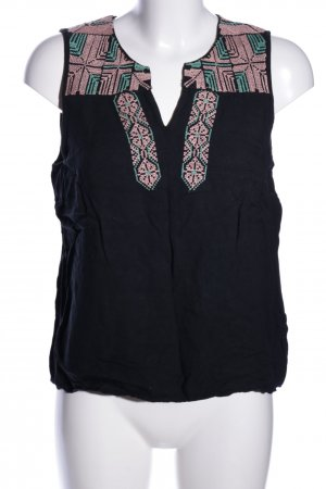 Forever 21 ärmellose Bluse Allover-Druck Casual-Look