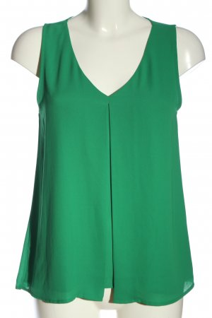 Forever 21 ärmellose Bluse grün Casual-Look