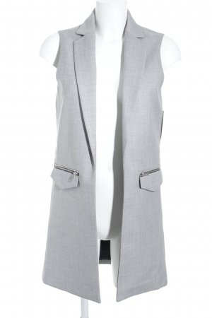 Forever 21 Waistcoat light grey-grey mixture fibre